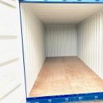 Lodný kontajner 20'DC modrý vnútro