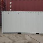 Lodný kontajner 20'DC v bielom prevedení