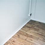 Kontajnerová vrátnica podlaha