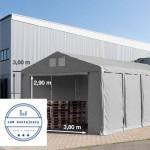 Skladovací kontajnerový stan otvorený